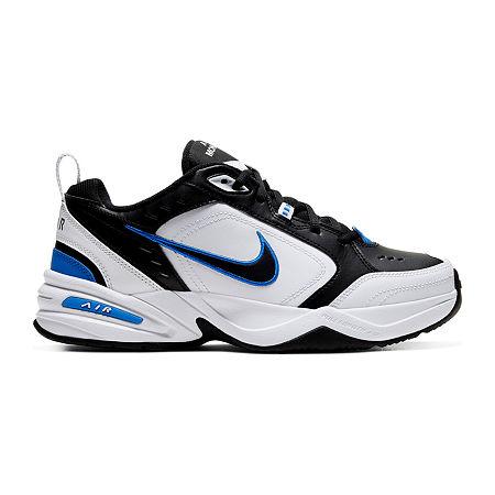Nike Air Monarch IV Mens Training Shoes, 9 1/2 Medium, Black
