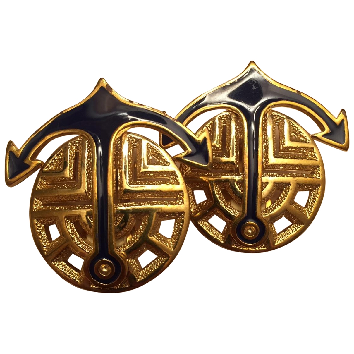 Louis Feraud \N Gold Metal Earrings for Women \N