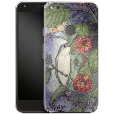 Google Pixel XL Silikon Handyhuelle - Mary Layton - Flying birds von TATE and CO