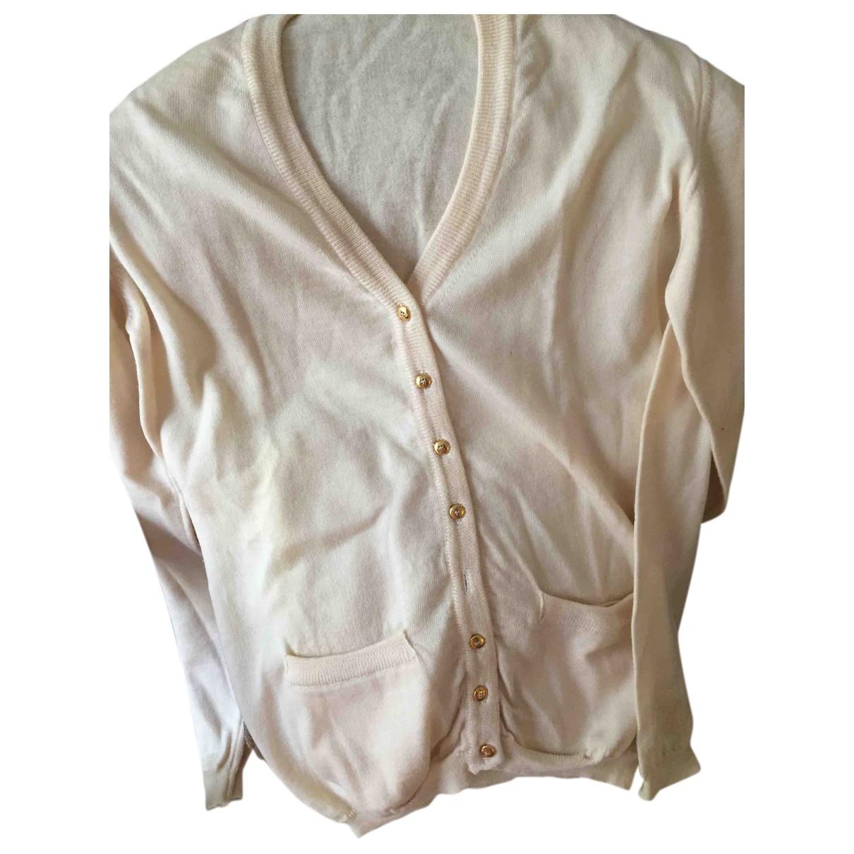 Christian Dior - Pull   pour femme en laine - ecru