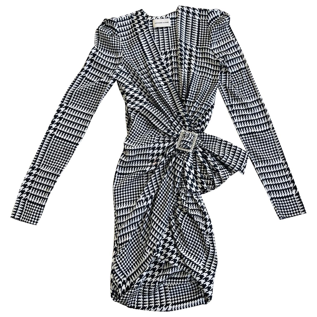 Alexandre Vauthier - Robe   pour femme en soie - multicolore