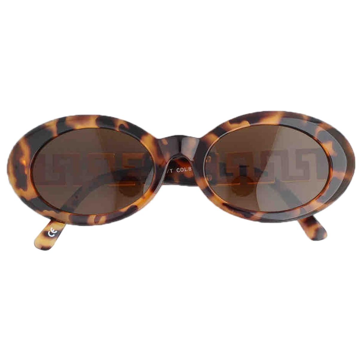Gianni Versace - Lunettes   pour femme - marron