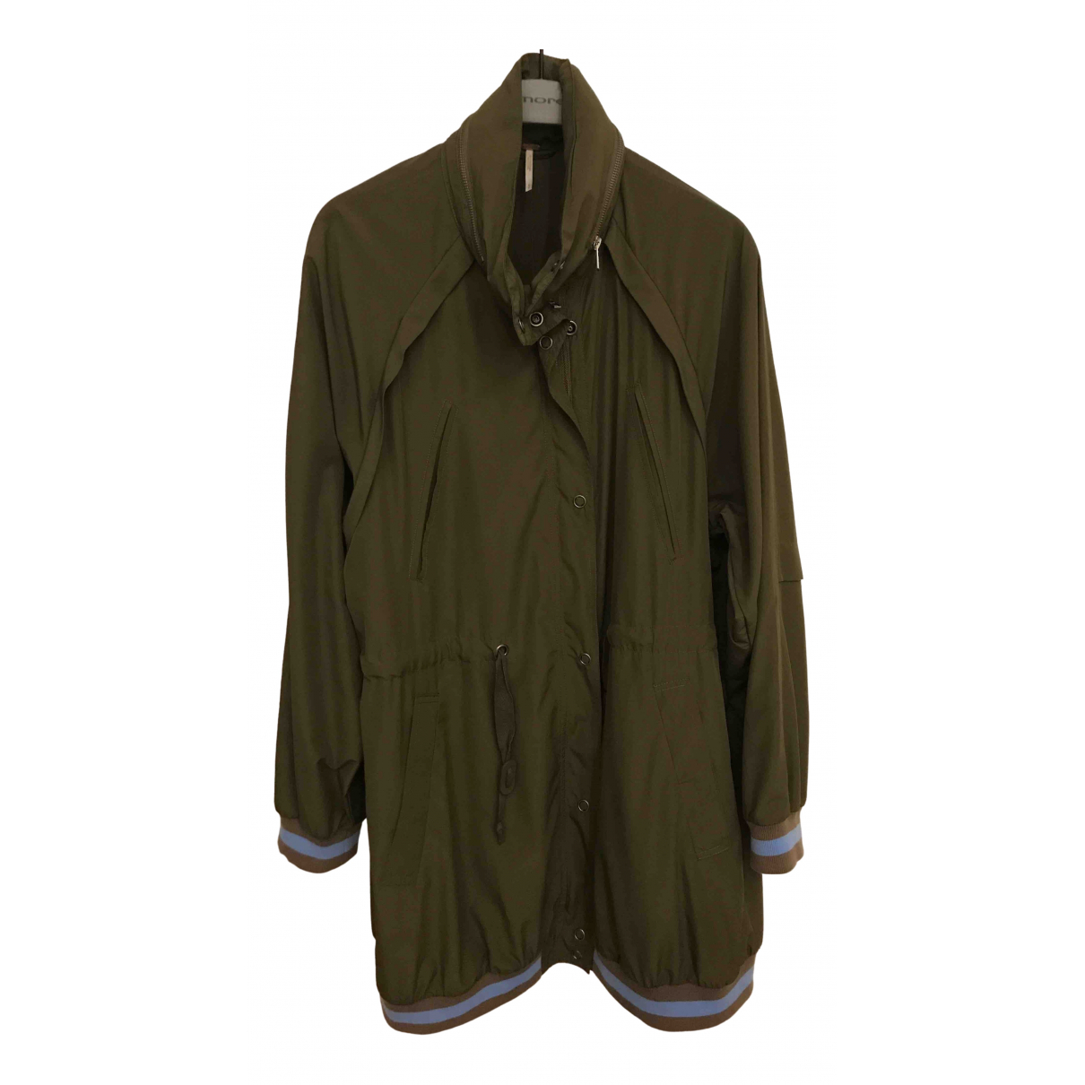 Free People - Trench   pour femme - vert