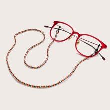 Bunte Brillenkette