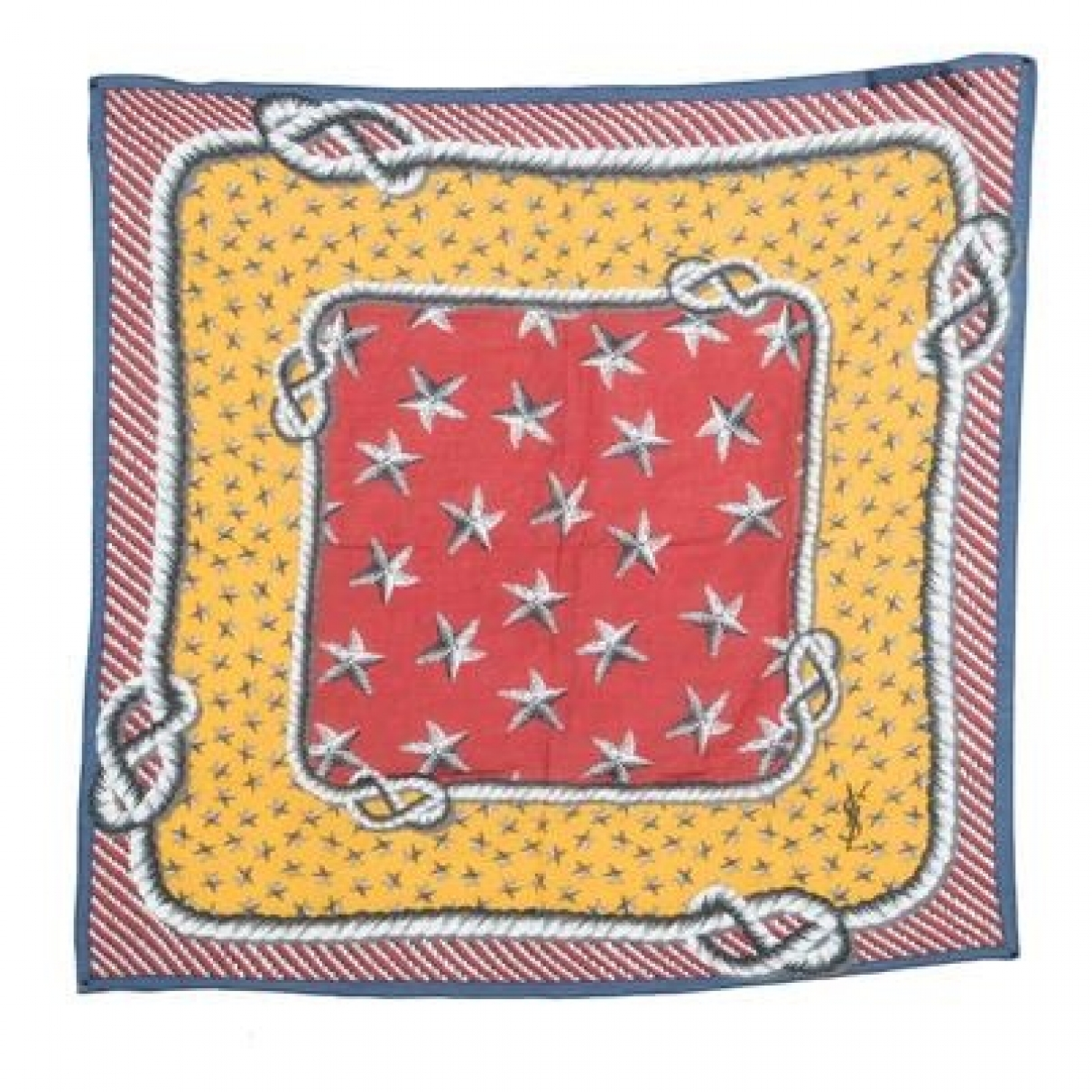 Yves Saint Laurent \N Multicolour Silk scarf for Women \N