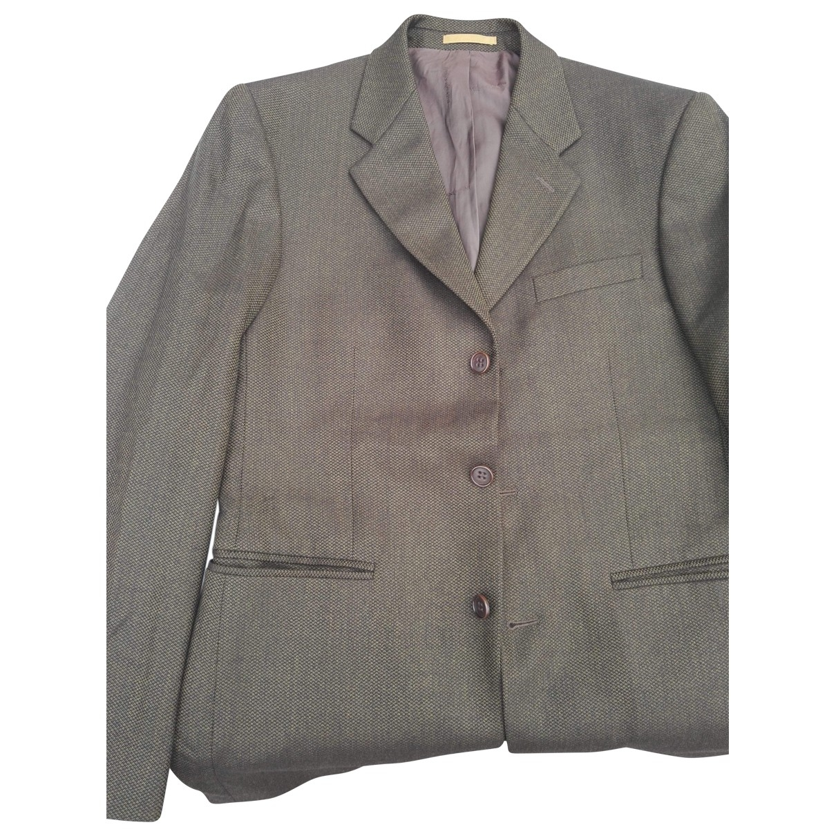 Yves Saint Laurent \N Gold Wool jacket  for Men 48 FR