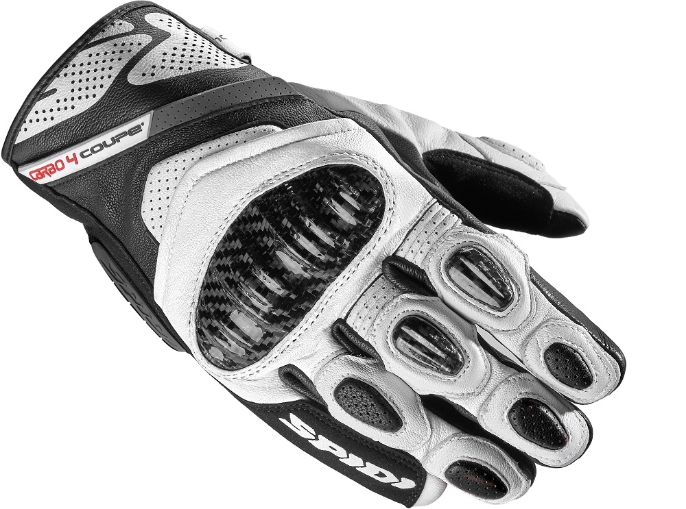 Spidi Carbo 4 Coupe Guantes Negro Blanco M
