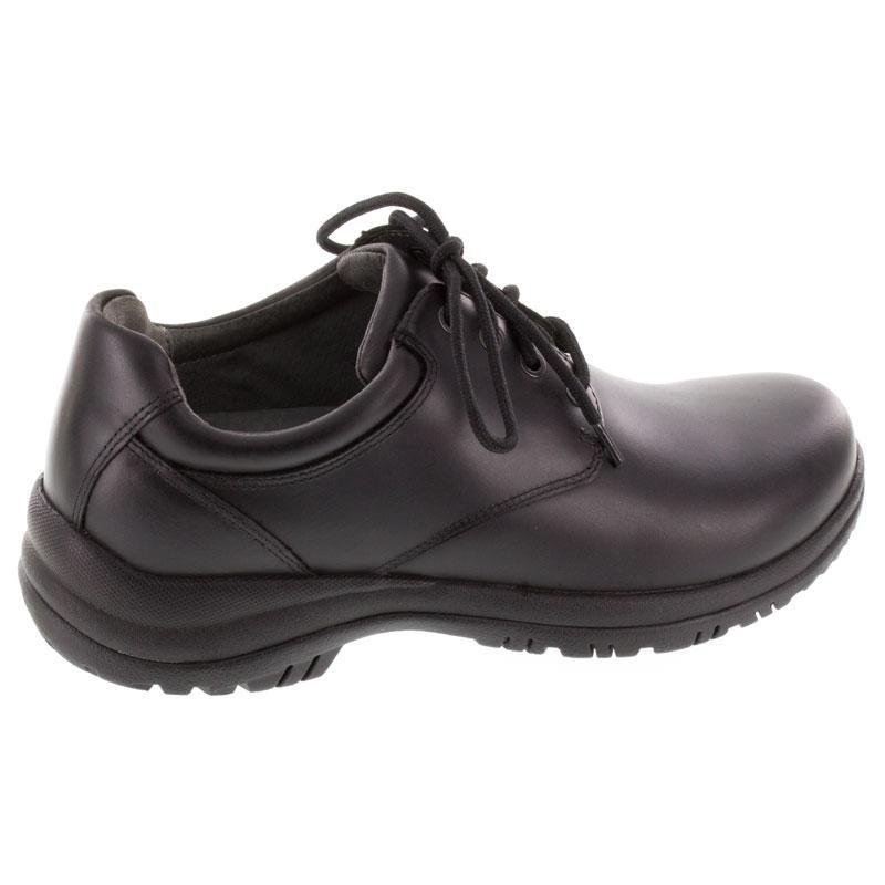 Dansko Walker Black Leather Slip-Resistant 44