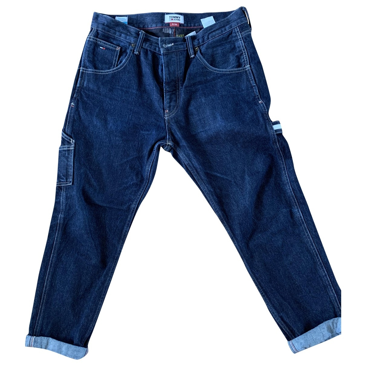 Tommy Jeans \N Blue Cotton Jeans for Men 31 US