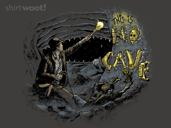 Starcheology Iii: This Is No Cave T Shirt
