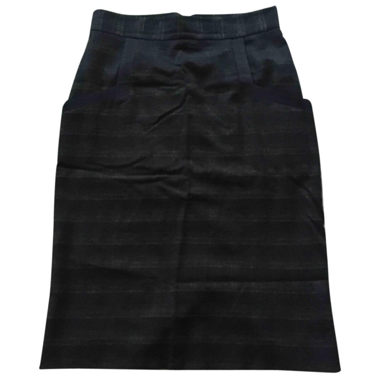 Vivienne Westwood Red Label N Blue Wool skirt for Women 46 IT
