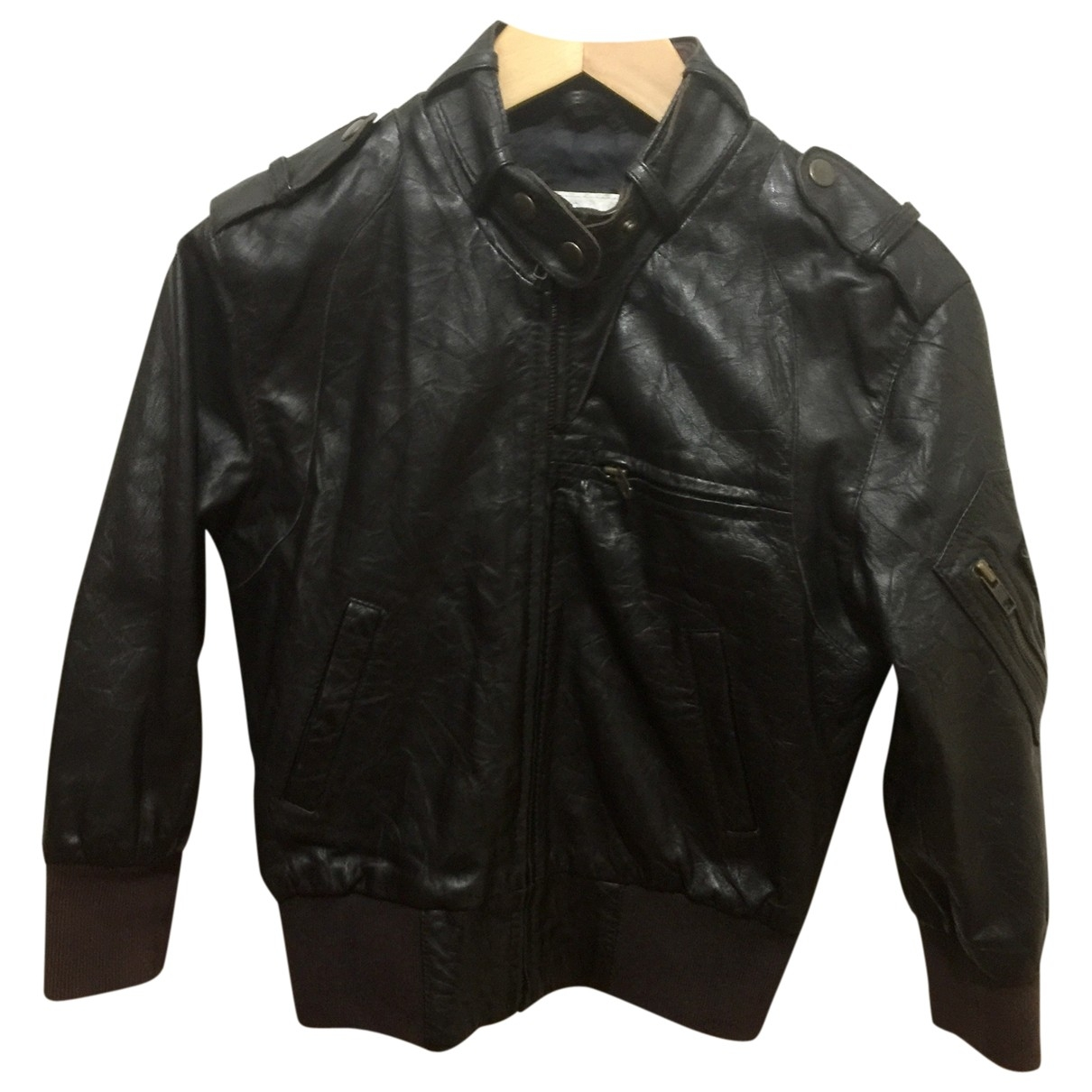 All Saints \N Brown Leather Leather jacket for Women S International