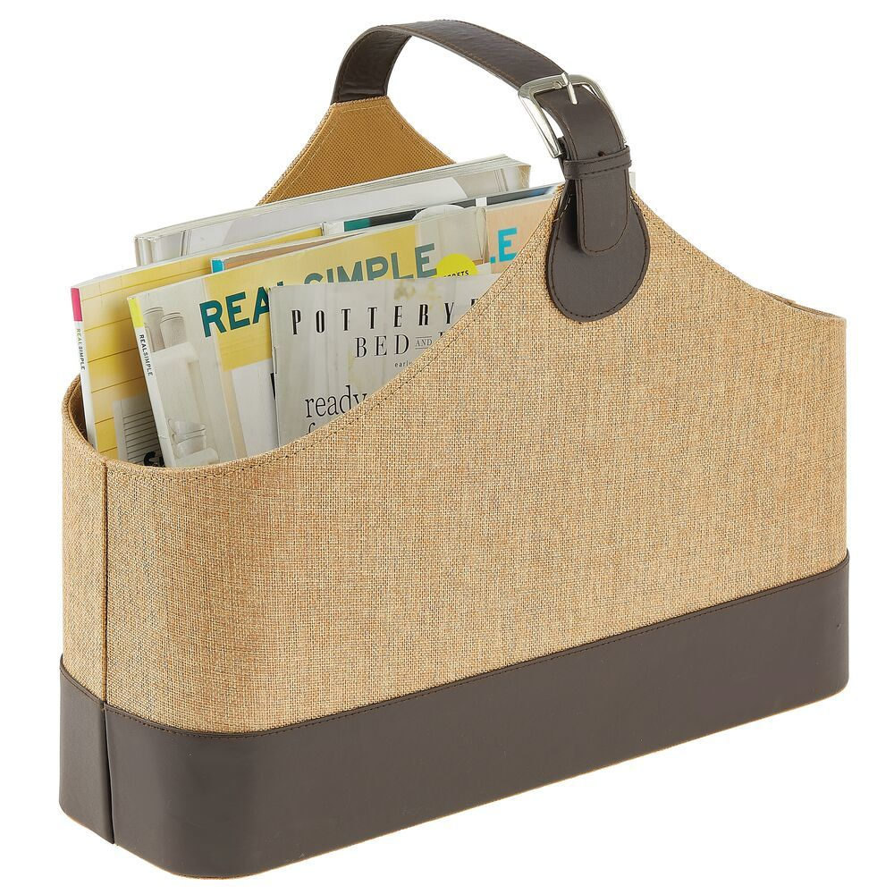 Home Storage Tote with Handles 17.3