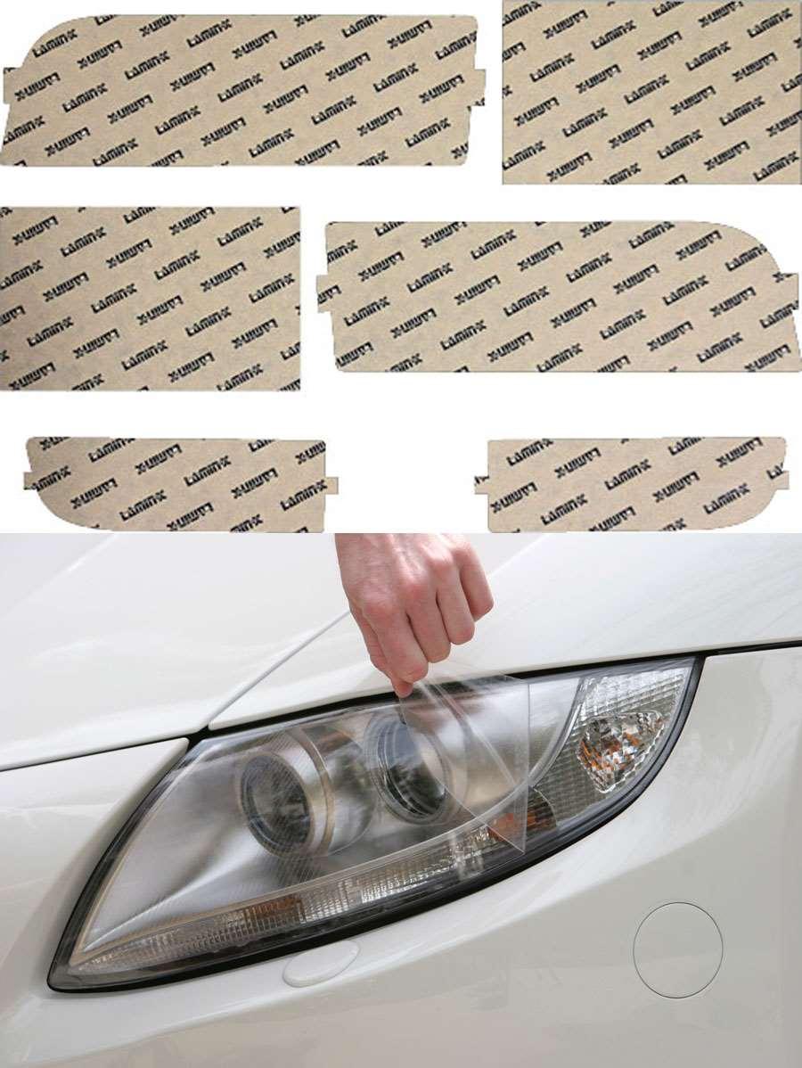 BMW 7-series 95-98 Clear Headlight Covers Lamin-X B020CL