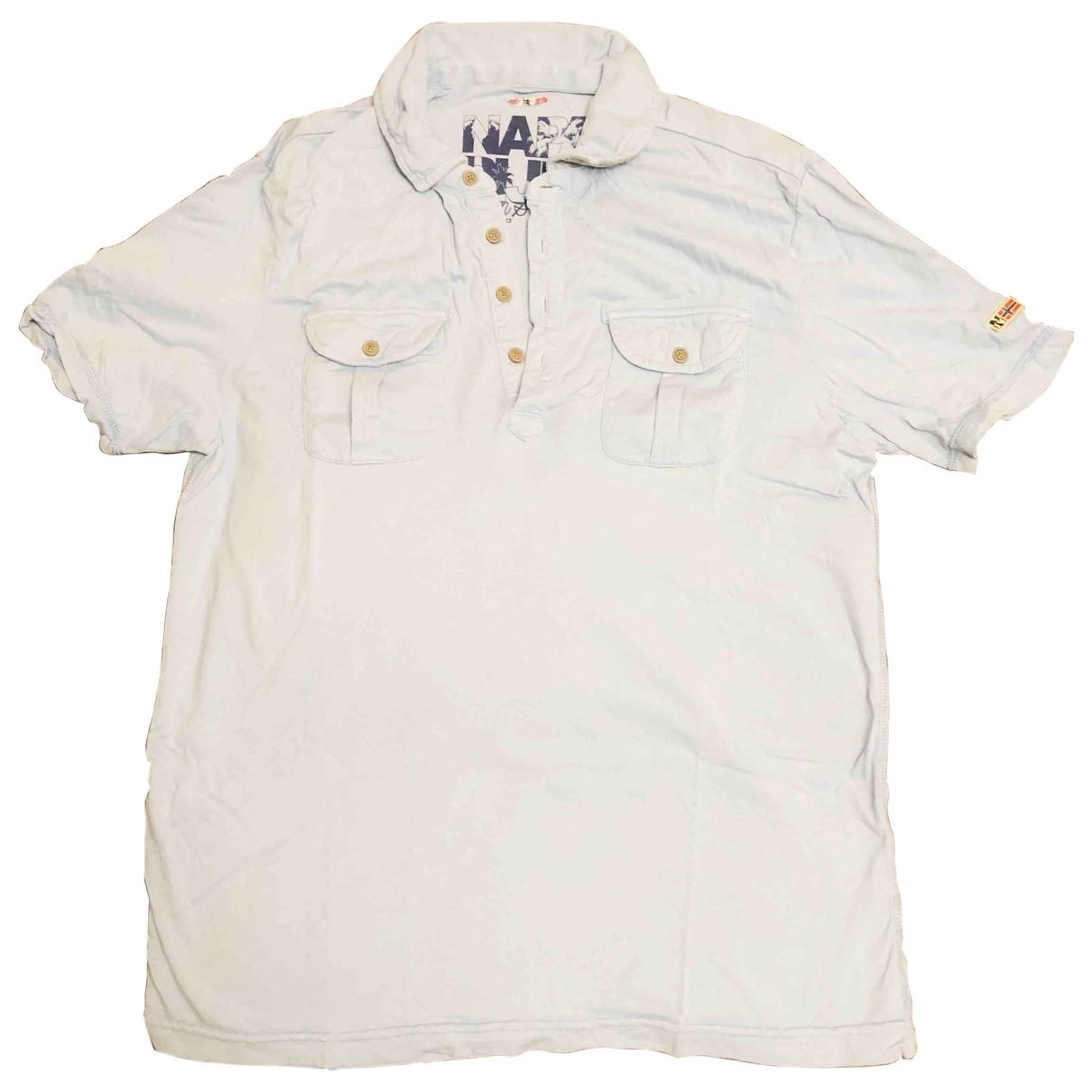 Napapijri \N Blue Cotton Polo shirts for Men M International