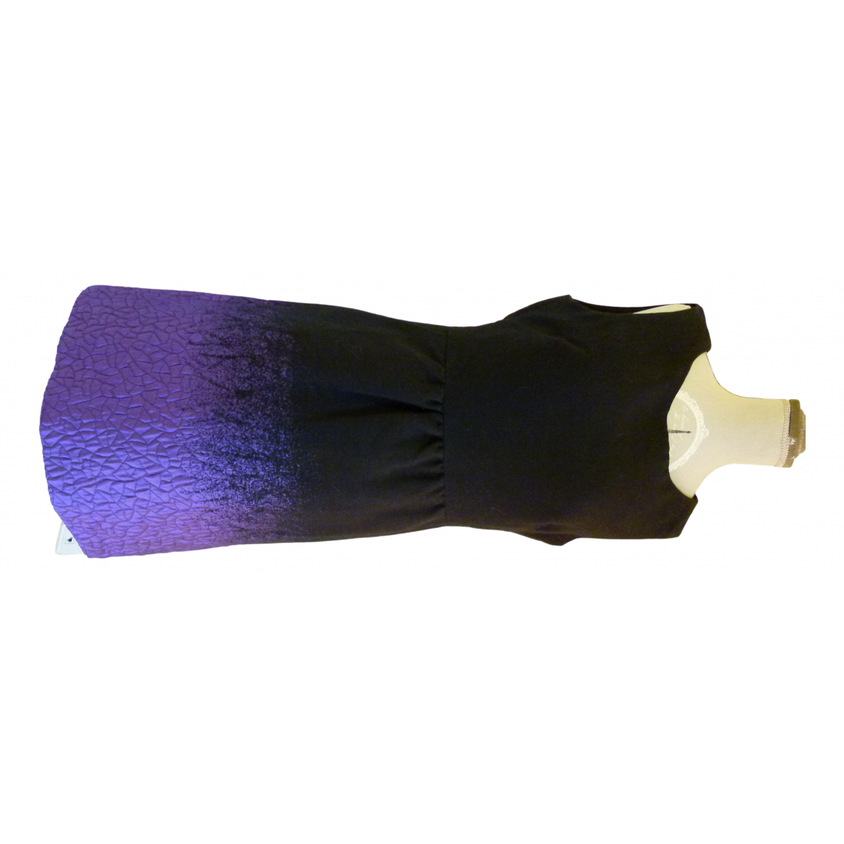 Desigual \N Kleid in  Schwarz Wolle