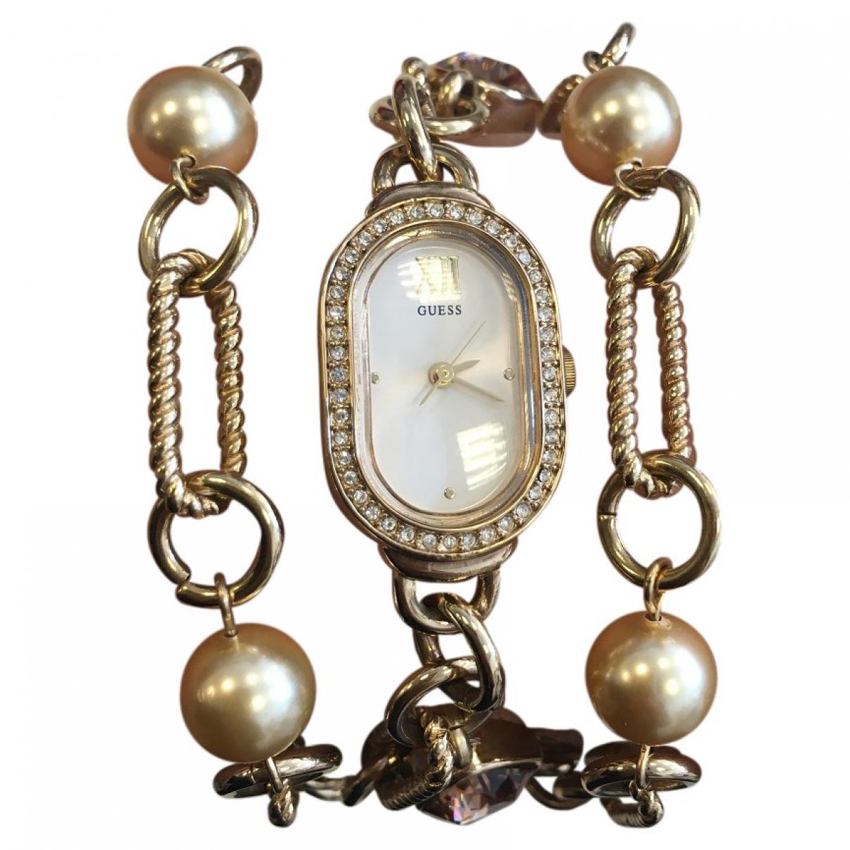 Guess \N Gold Steel watch for Women \N