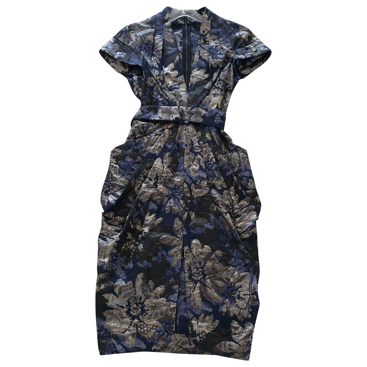 Catherine Malandrino \N Kleid in  Blau Baumwolle