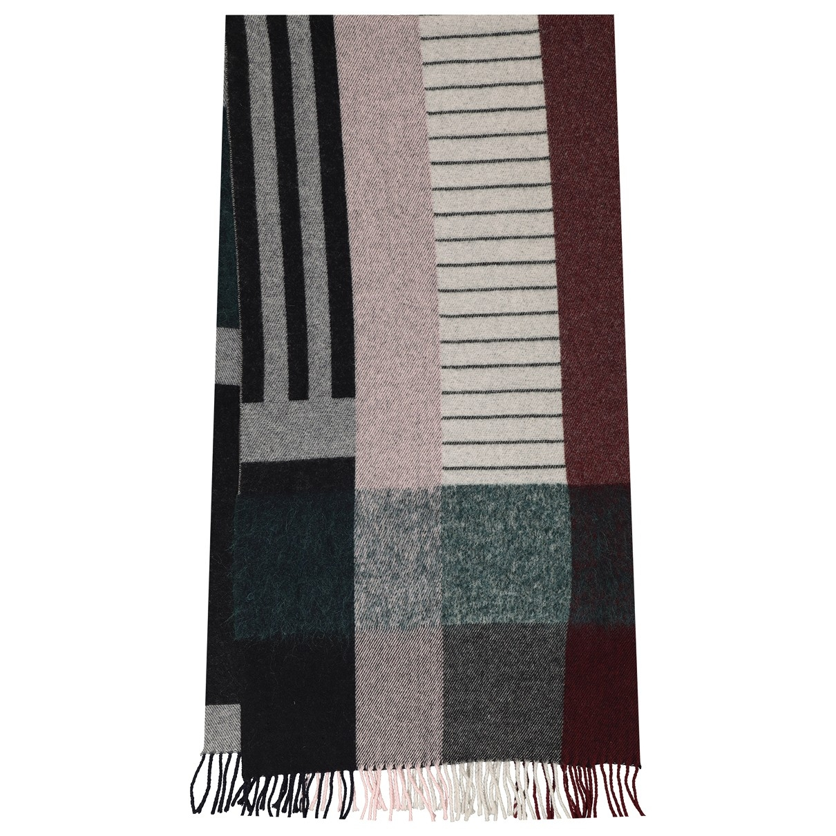 Holzweiler \N Red Wool scarf for Women \N