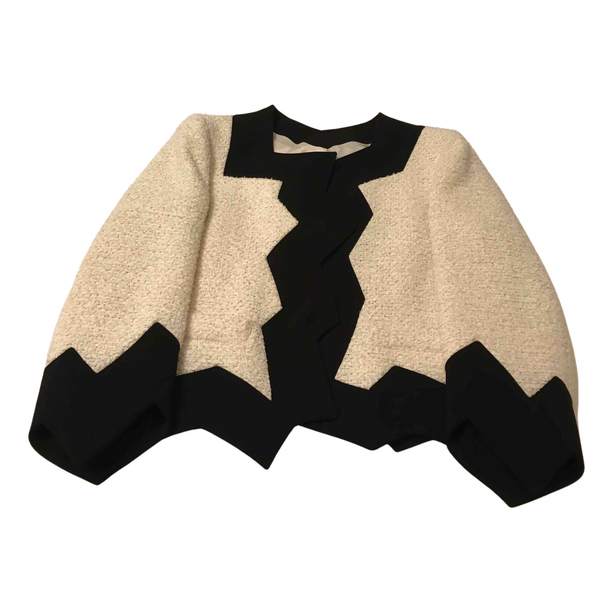 Moschino Cheap And Chic \N Ecru Cotton jacket for Women 8 UK