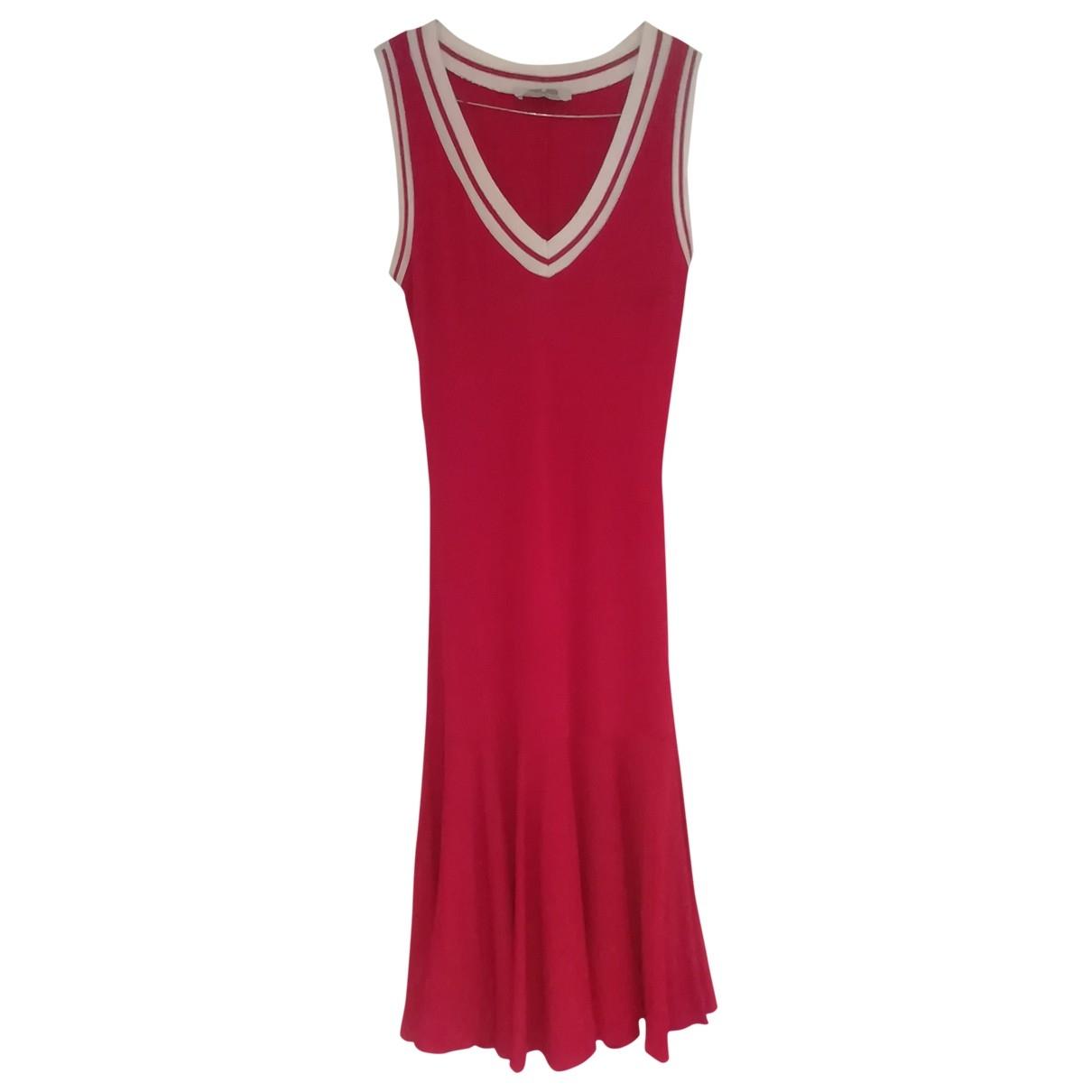 Cesare Paciotti \N Kleid in  Rot Viskose