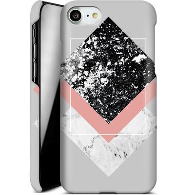Apple iPhone 8 Smartphone Huelle - Geometric Textures 1 von Mareike Bohmer