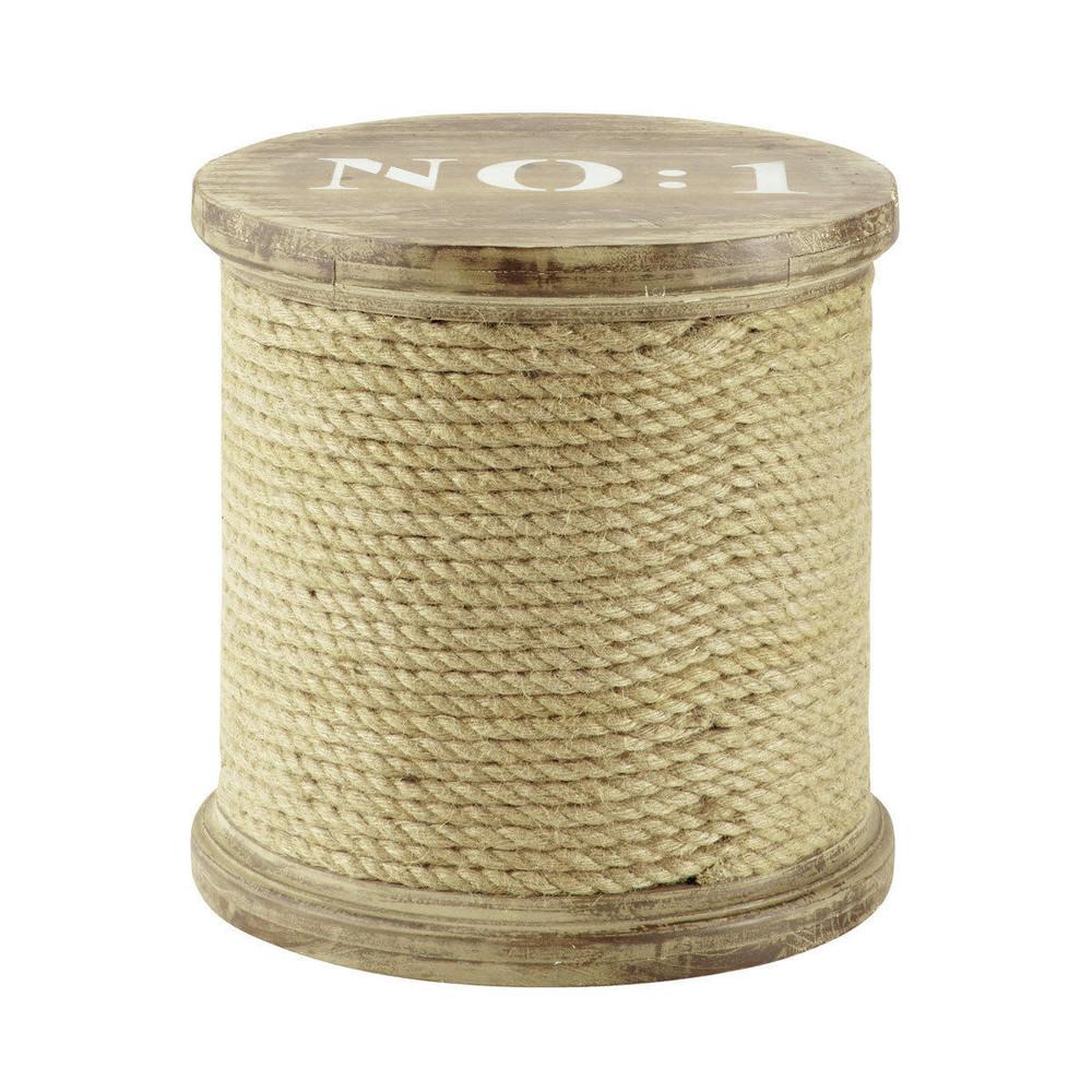 Holzhocker Seilspule