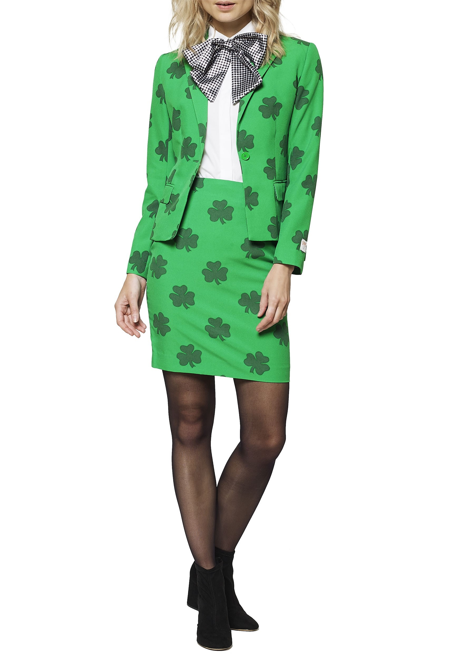 Opposuit St. Patricks Girl Green Womens Suit