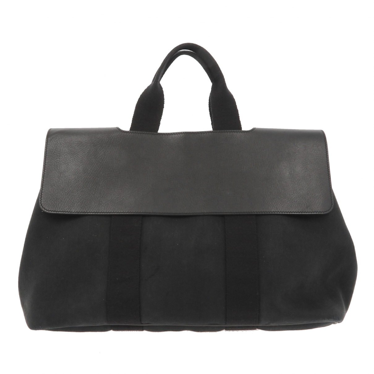 Hermès Valparaiso Black Cloth handbag for Women \N