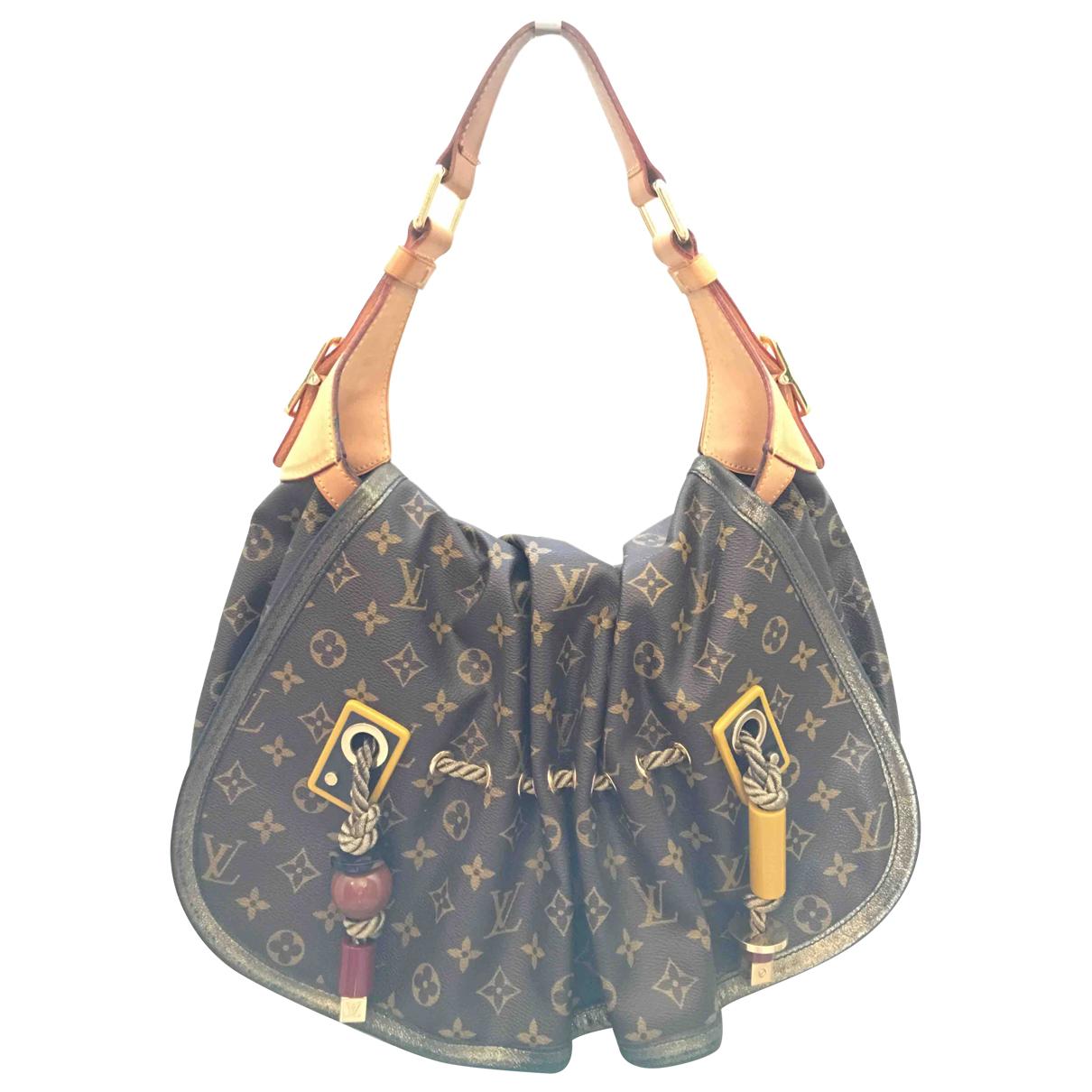 Louis Vuitton Kalahari Brown Cloth handbag for Women \N