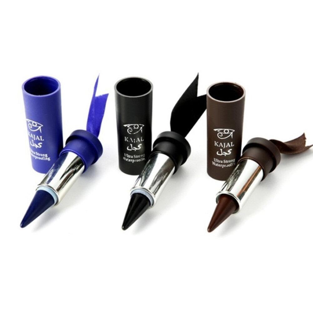 MusicFlower Eyeliner Stick Waterproof Gel Eye Makeup Pencil Natural Smooth Smoky Eyes Liner