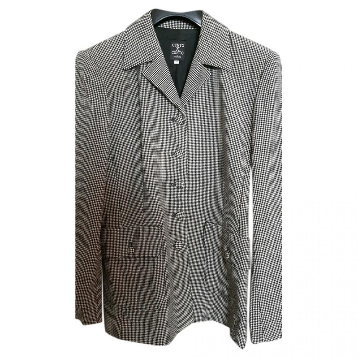 Iceberg \N Multicolour Wool jacket for Women 42 IT