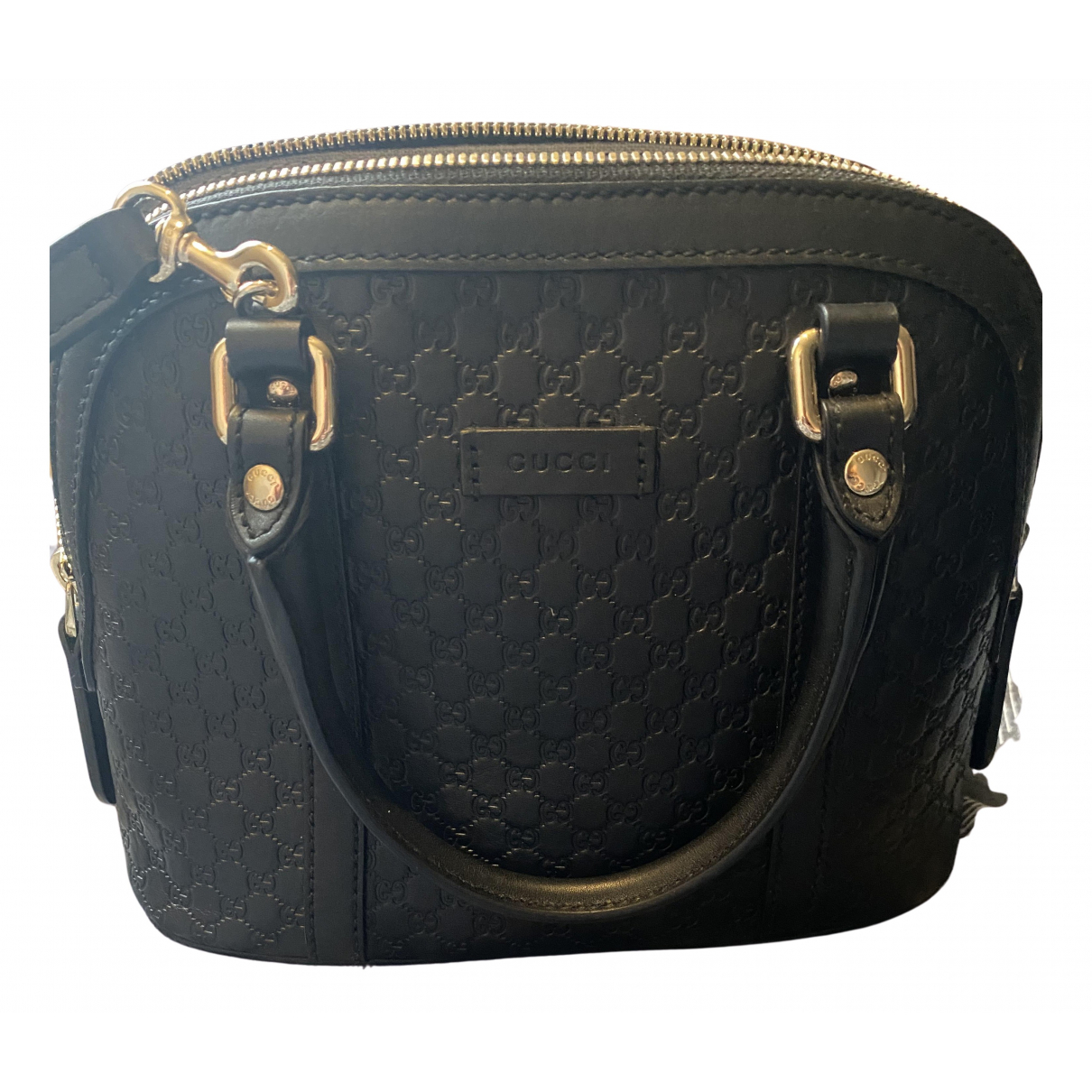 Gucci Dôme Black Leather handbag for Women N