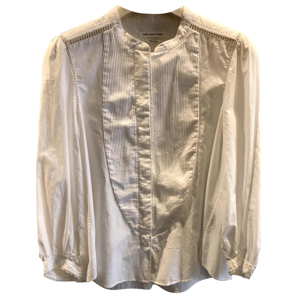 Isabel Marant Etoile \N White Cotton  top for Women 36 IT
