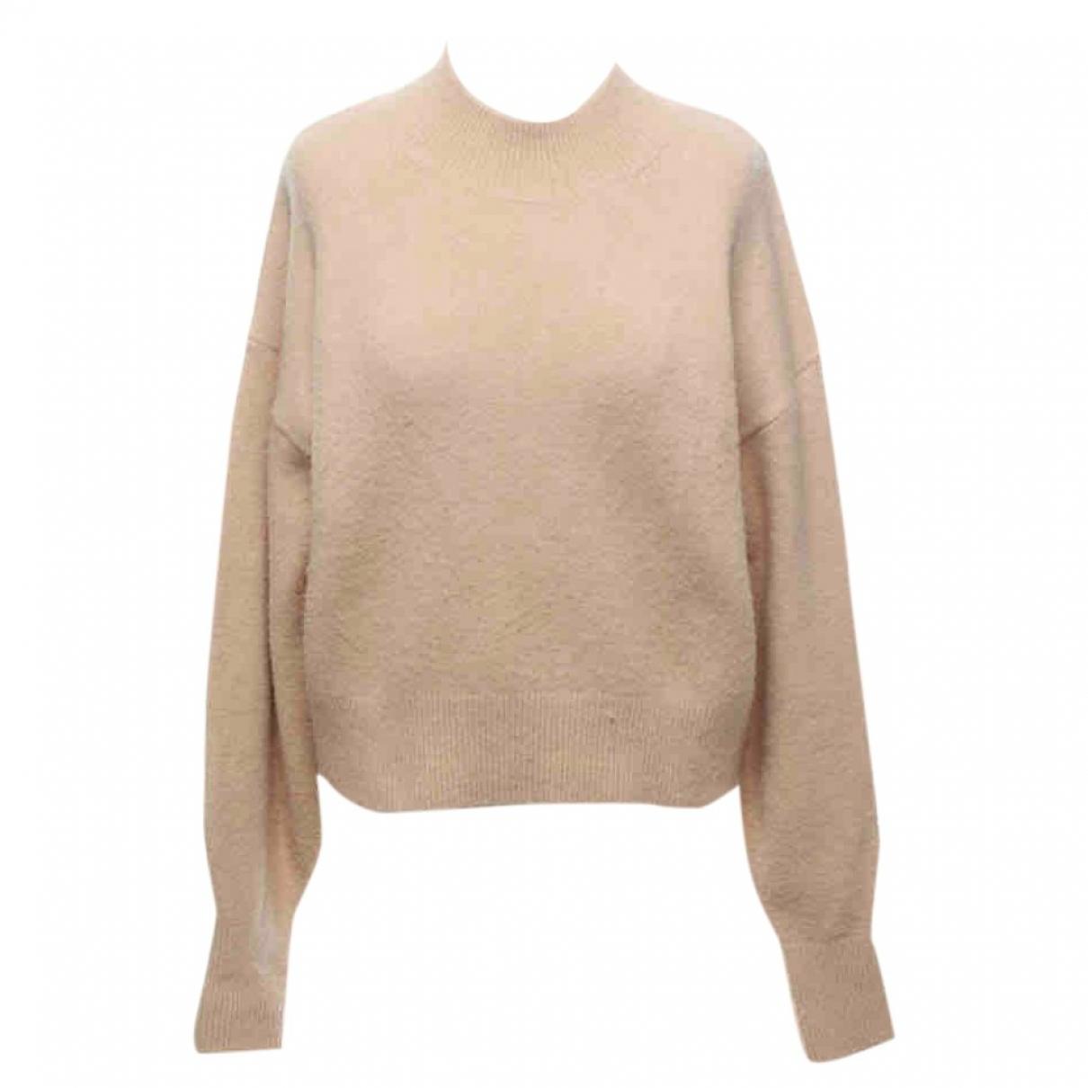 & Other Stories - Pull   pour femme en laine - beige