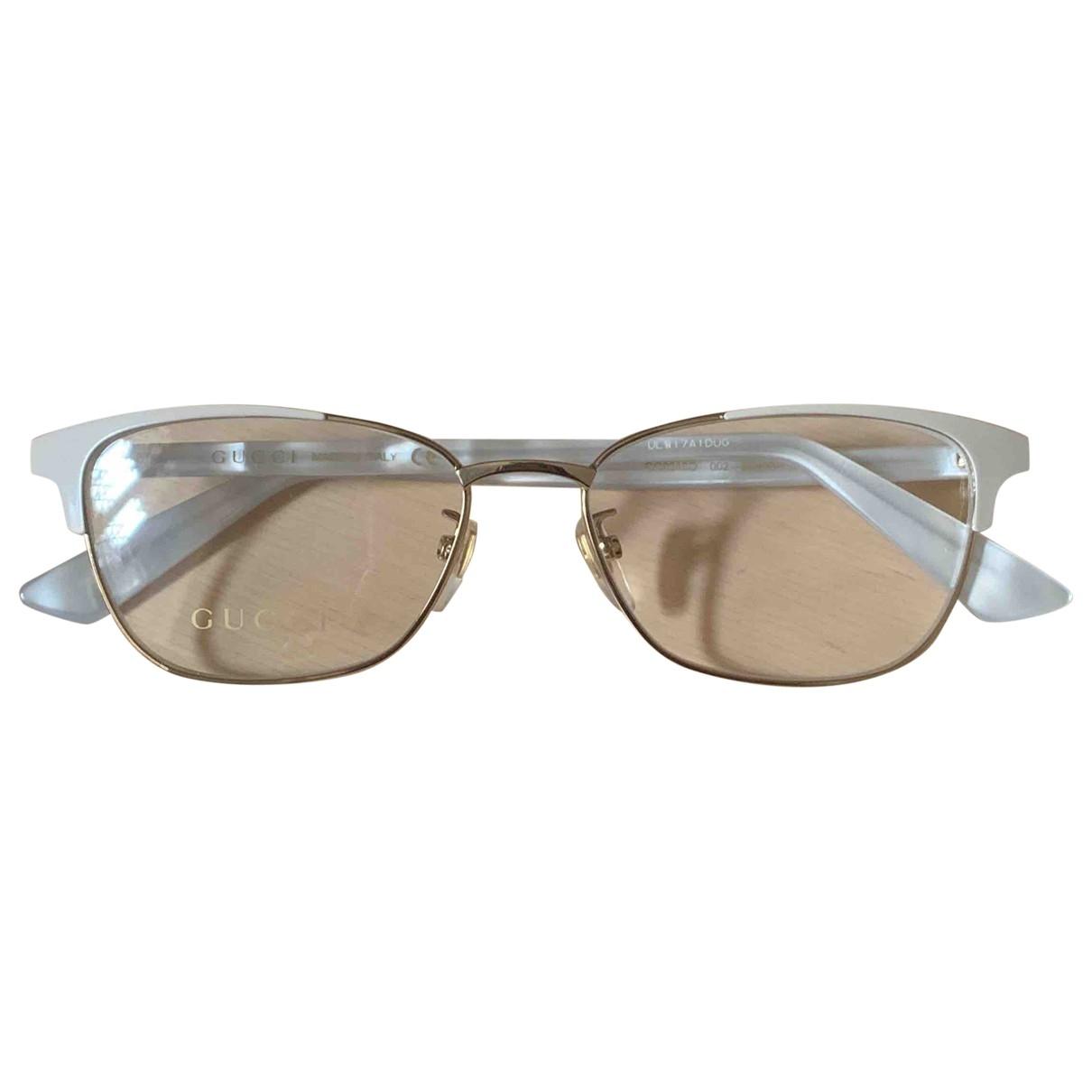Gucci \N White Sunglasses for Women \N