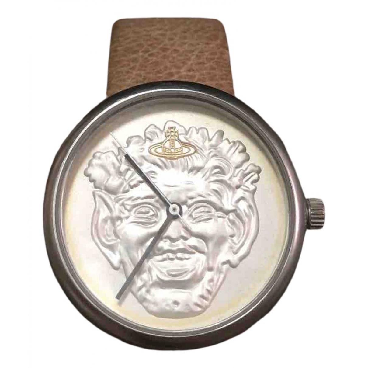 Vivienne Westwood \N Uhr in  Beige Stahl