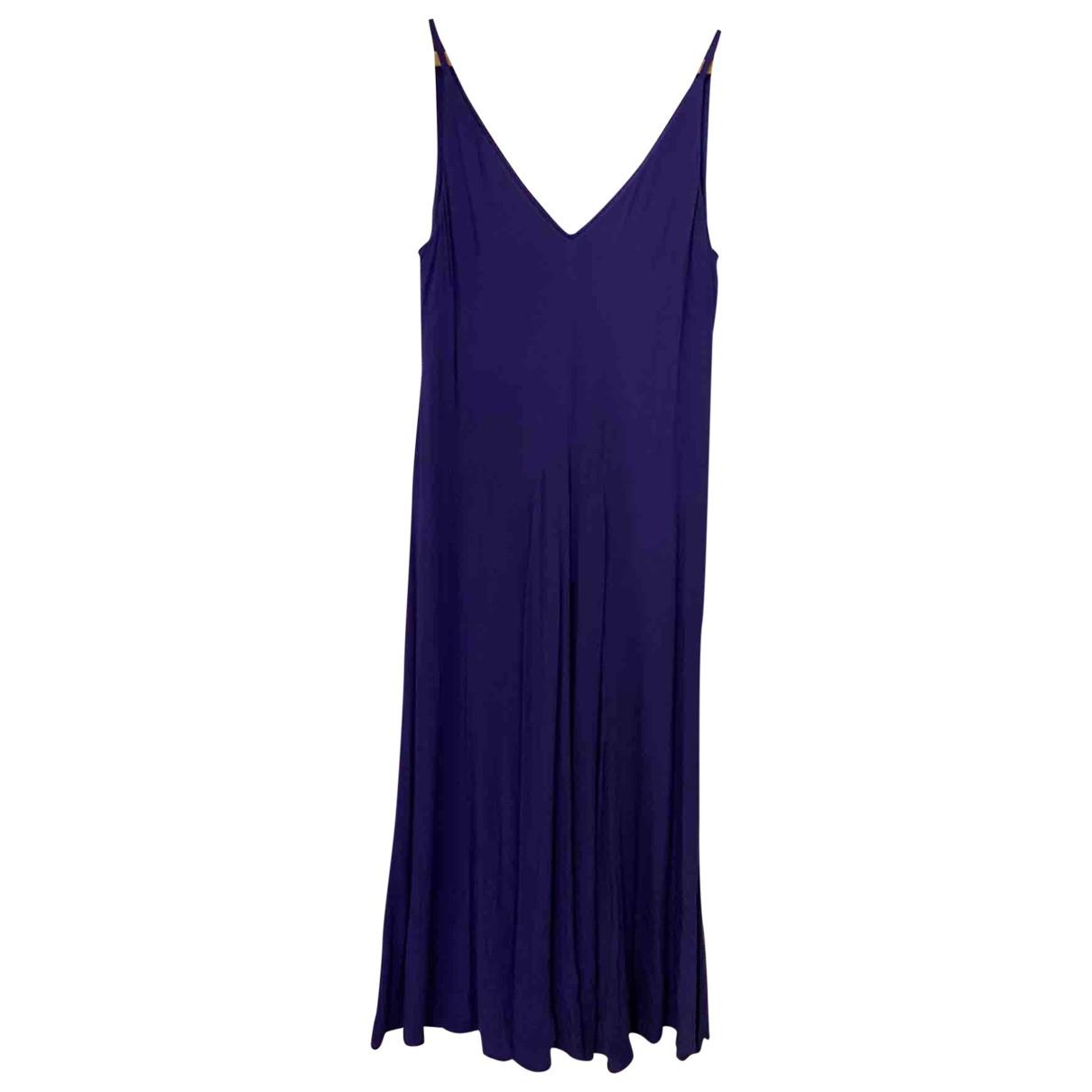 & Other Stories \N Kleid in  Blau Baumwolle