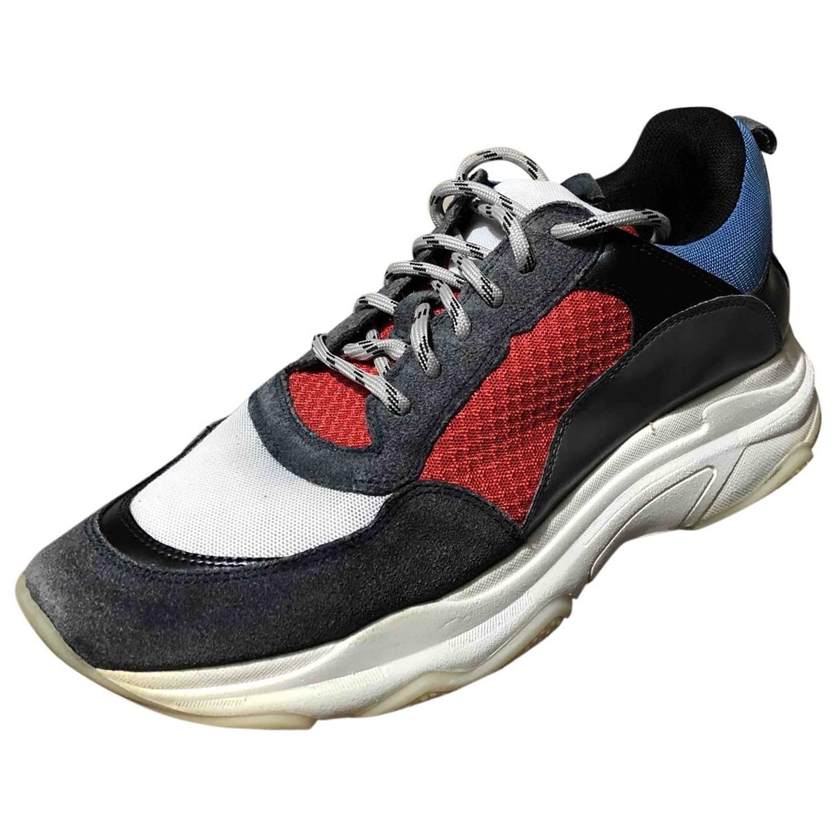 Steve Madden \N Sneakers in  Blau Veloursleder