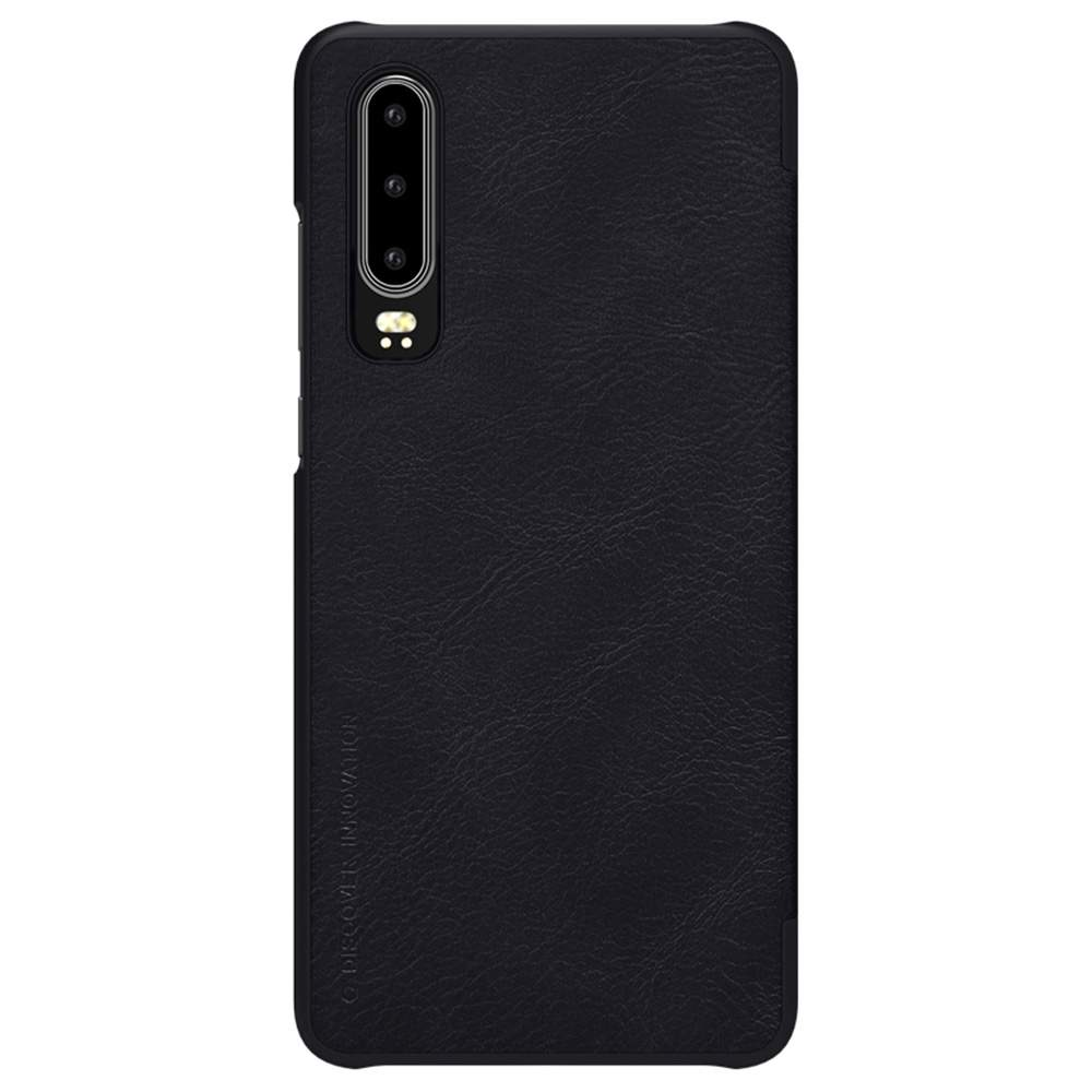 NILLKIN Protective Leather Phone Case For HUAWEI P30 Smartphone - Brown