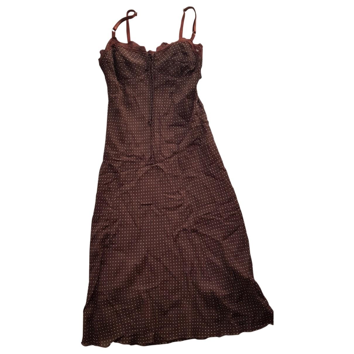 - Robe Hippie Chic pour femme - marron