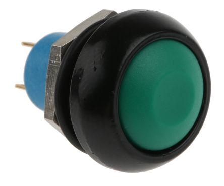 APEM Single Pole Single Throw (SPST) Momentary Push Button Switch, IP67, 13.6 (Dia.)mm, Panel Mount, 28V dc