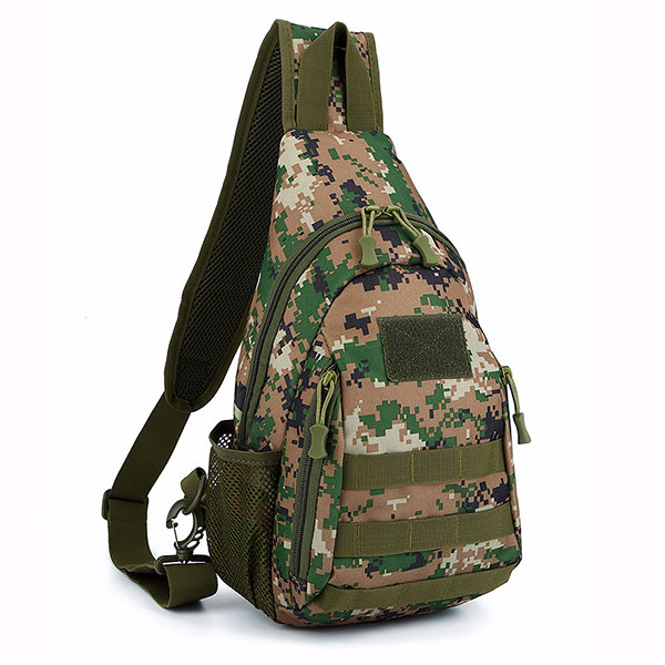 Nylon Outdoor Military Tactical Crossbody Bag Camping Trekking Travel Camouflage Bag For Men