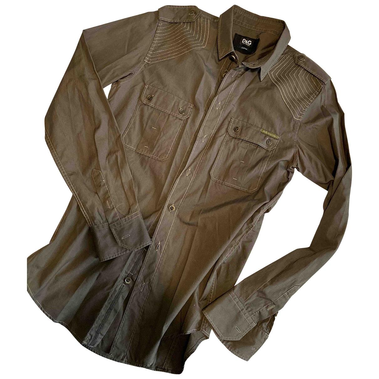 D&g \N Hemden in  Gruen Baumwolle