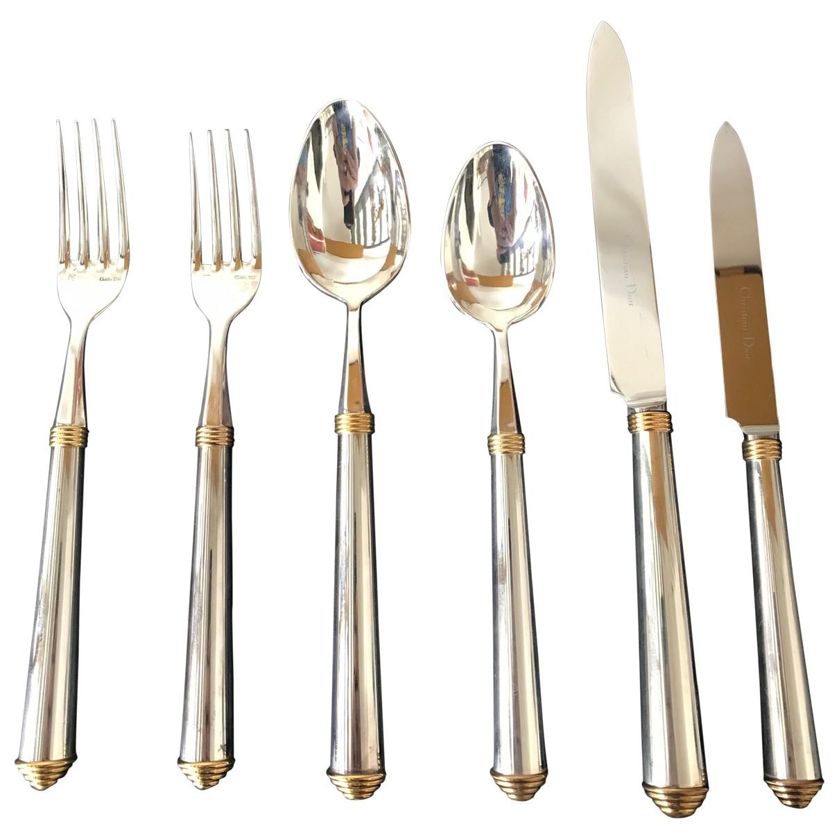 Dior - Arts de la table   pour lifestyle en metal - argente