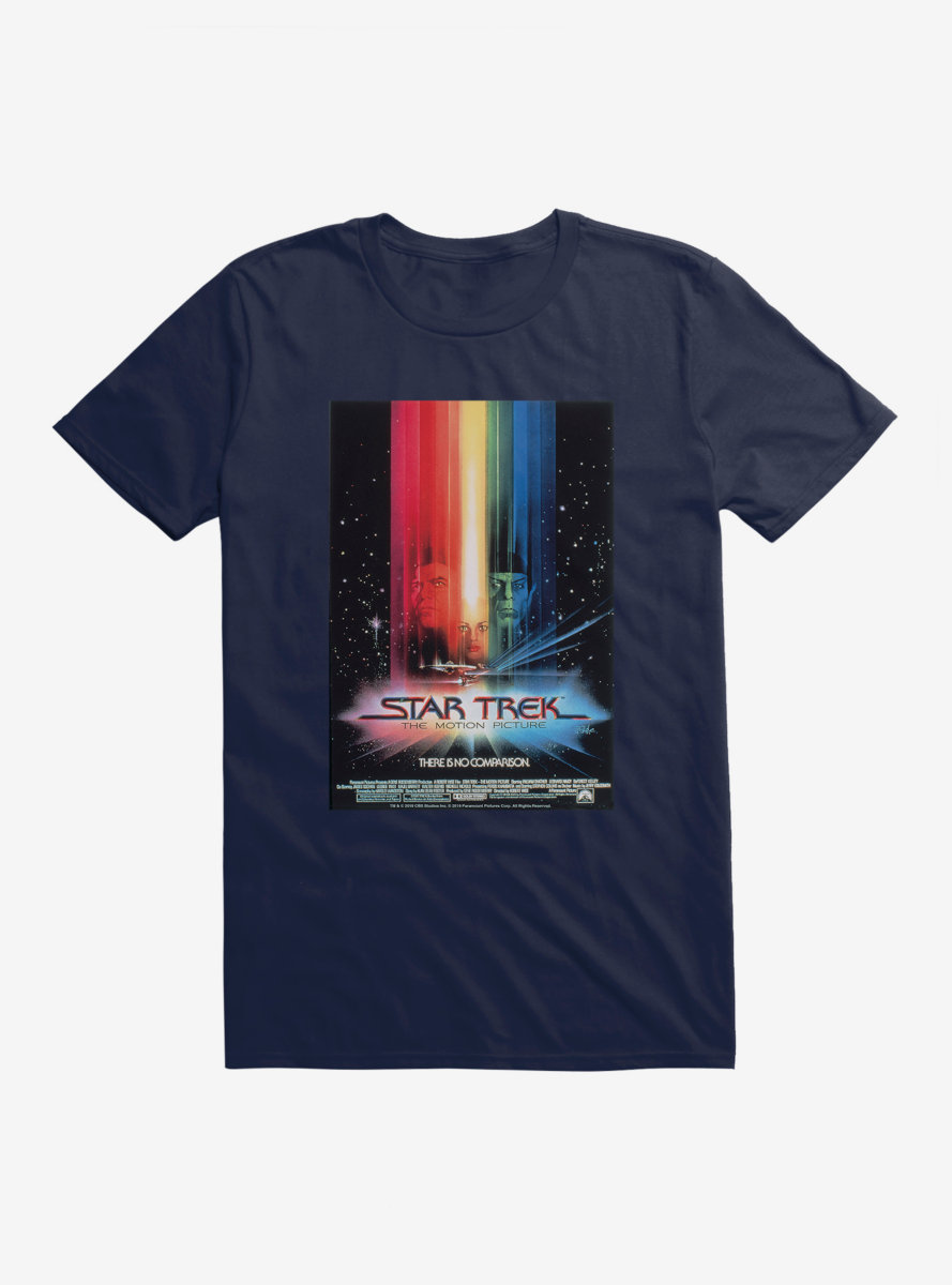 Star Trek The Motion Picture Poster T-Shirt