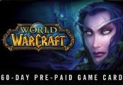 World of Warcraft 60 DAYS Pre-Paid Time Card US