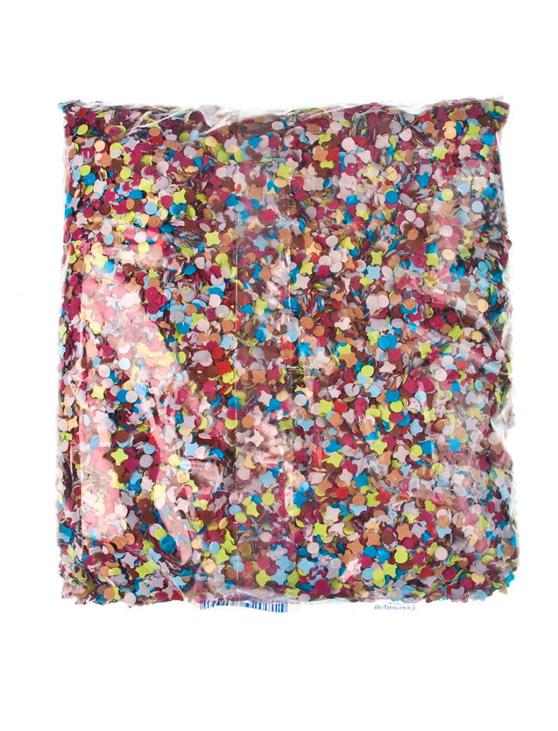 Konfetti 400g Farbe: multicolor bzw. bunt