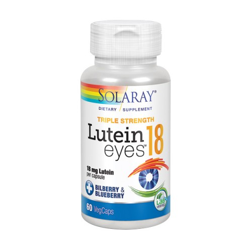 Lutein Eyes 60 Veg Caps by Solaray