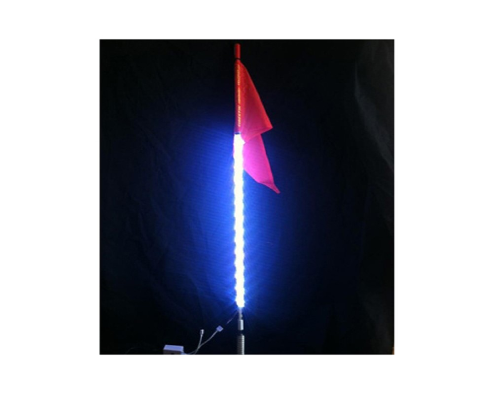 High Lifter LED-WHIP-3 3 inch LED Light Whip With 16 Color Options/4 Flash Patterns w/Wireless Remote